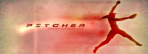 Pitcher softball Facebook cover image
