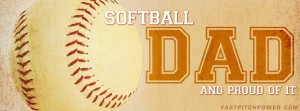Softball Dad Facebook cover image
