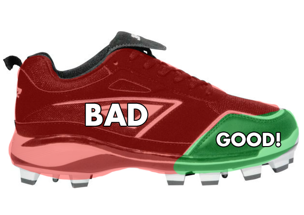 Avoid Getting Holes in Your Cleats